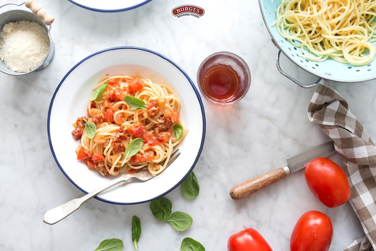 Špagety all´Arrabbiata