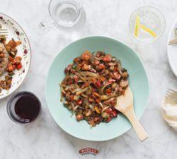 Karamelizovaná zelenina s balzamovým octom di Modena Borges
