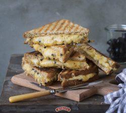 Sendvič so zapečeným syrom recept