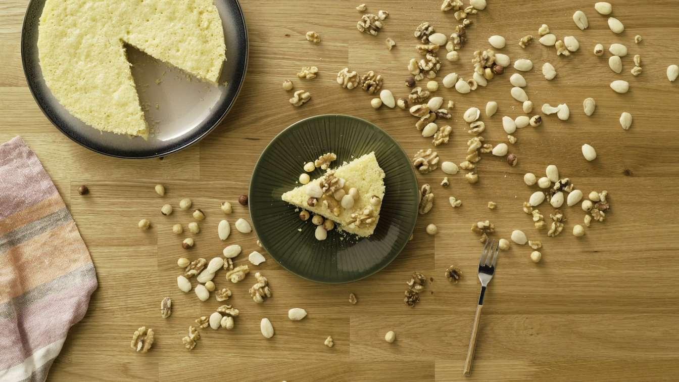 Jogurtovo piškótový koláč