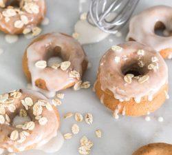 Domáce vegánske donuts